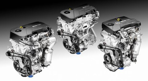 General Motors Has a New Family of Tiny Ecotec Engines