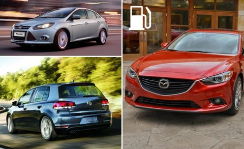 The 10 Most Fuel Efficient Gas And Sel Cars For Today