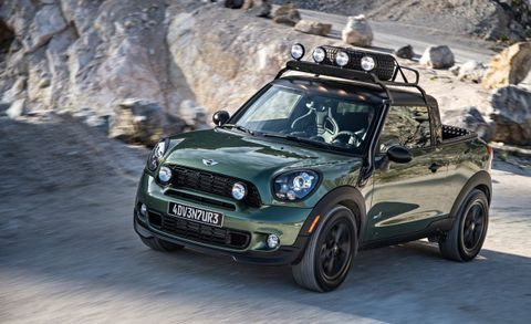 Mini Cooper Paceman Adventure All4