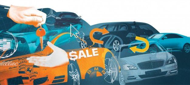 cars for sale illustration