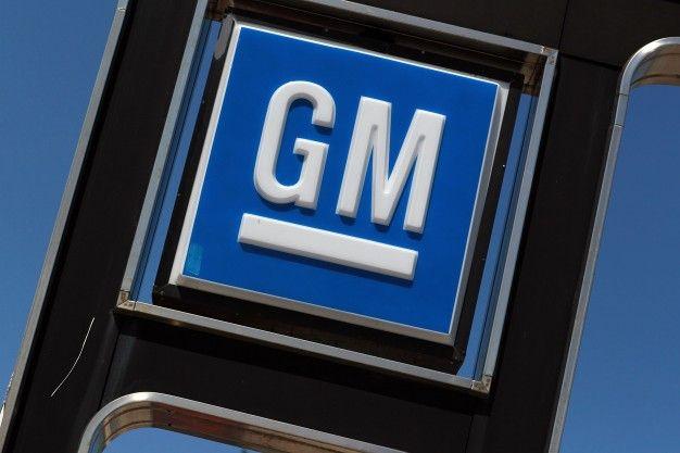 general motors dealership sign