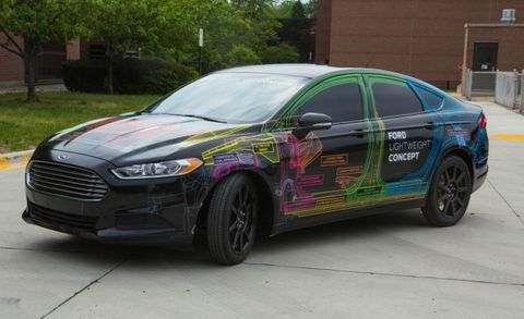 Weight Watchers Ford Shaves 800 Pounds From Fusion With Lightweight Concept
