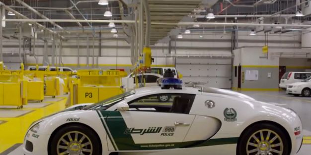 Watch Inside The Dubai Police Force S Fleet Of Supercars