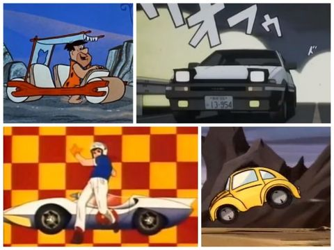 Toontastic The 10 Greatest Animated Cars Of All Time Feature Car And Driver