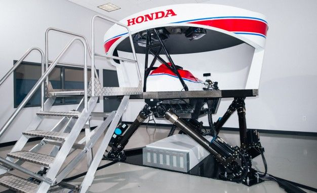 honda's racing sim