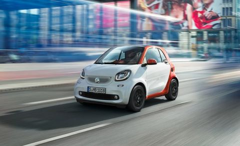 2017 Smart Fortwo Placement