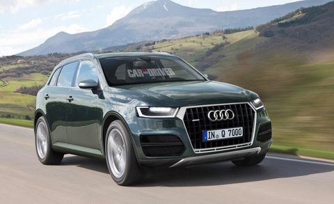 Audi Suv Q7 >> 2016 Audi Q7 Everything We Know About The Next Gen Suv News Car