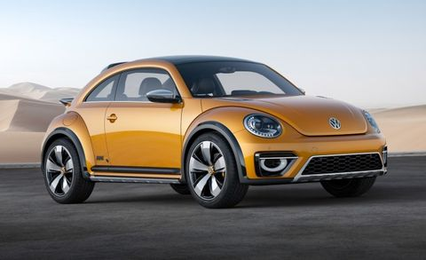 Dune Bug Returns Awesome Vw Beetle Concept Going Into Production In 2016