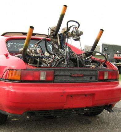 How To Stuff A Radial Aircraft Engine In A Toyota Mr2