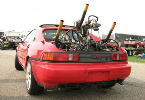How to: Stuff a Radial Aircraft Engine in a Toyota MR2