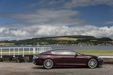 2015 Aston Martin Rapide S Vanquish Get 8 Speed Automatic News Car And Driver