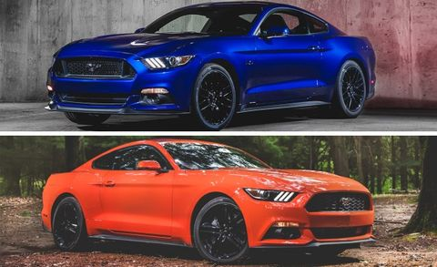 2015 Mustang Ecoboost >> 2015 Ford Mustang Gt Versus 2015 Ford Mustang Ecoboost