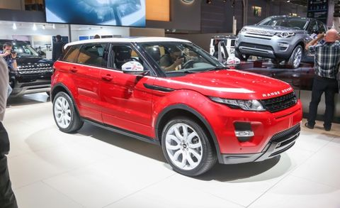 Land Rover Range Rover Evoque SW1 Wears the Union Jack – News – Car