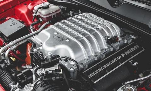 2015 dodge challenger srt hellcat supercharged 6 2-liter v-8 engine
