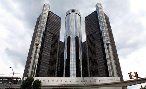 GM Renaissance Center headquarters in Detroit
