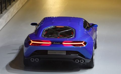 Lamborghini Reveals 897 Hp Asterion Lpi 910 4 Hybrid Supercar