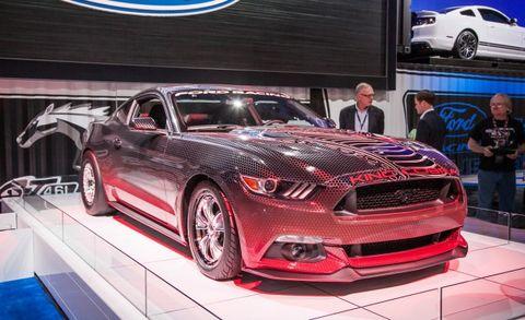 2015 Mustang Cobra >> Ford Racing 2015 Mustang Gt King Cobra Packs 600 Horsepower