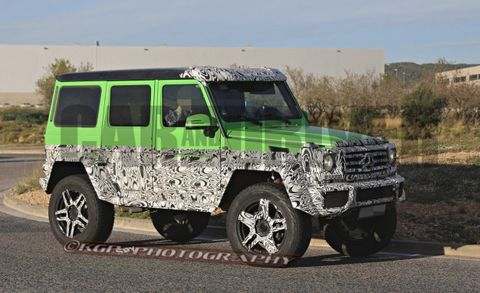 4x4 Version of Mercedes G63 6x6 Confirmed – News – Car and Driver