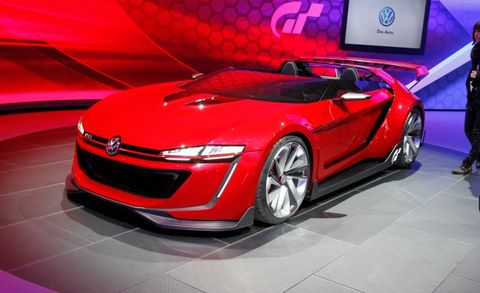 Gt6 Made Flesh Vw S Gti Roadster Concept Is Insanely Cool News