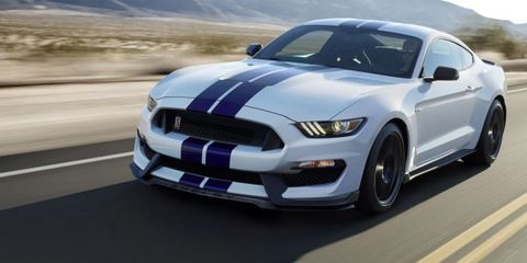 Want to Own the First 2016 Mustang GT350? Get Thee to Scottsdale on January 17