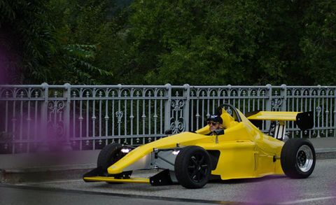 Egoista Pc010 St Electric Race Car