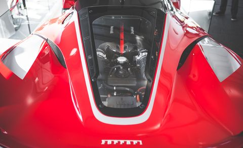 Automotive design, Red, Glass, Sports car, Hood, Supercar, Performance car, Windshield, Race car, Automotive window part,