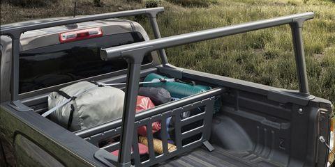 Automotive exterior, Steel, Bumper, Truck, Trunk, Baggage, Aluminium, Automotive carrying rack, Truck bed part, Pickup truck,