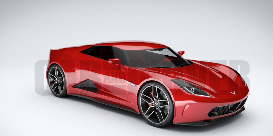 2017 Mid Engined Chevrolet Corvette Zora Rendered In 360 Degree Glory