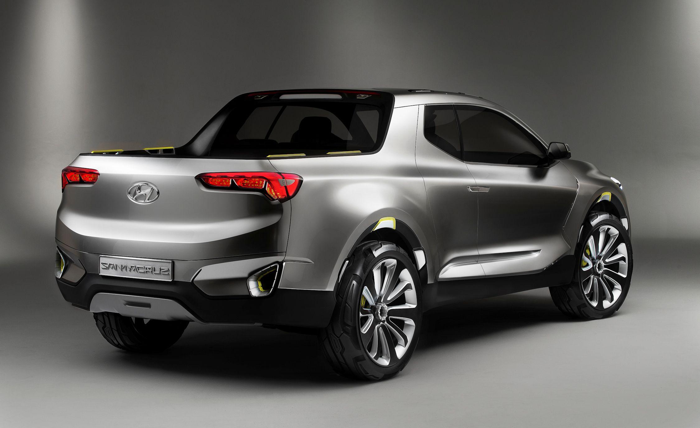 Hyundai santa cruz crossover concept 105