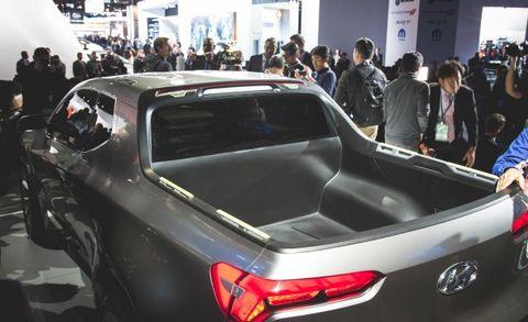 Hyundai Santa Cruz Crossover Concept