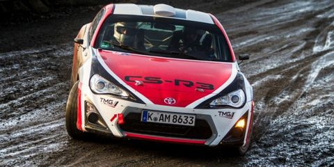 The Toyota Gt86 Is Ready To Go Rallying