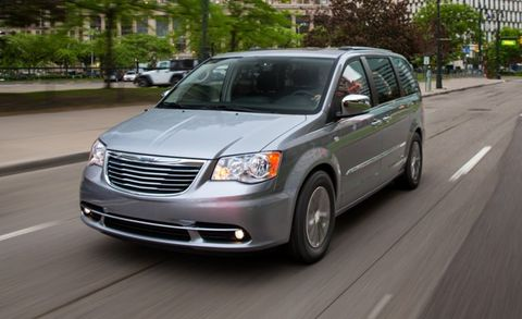 2017 Chrysler Town Country 30th Anniversary Edition