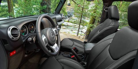 Miraculous How Wed Spec It 2015 Jeep Wrangler Feature Car And Driver Machost Co Dining Chair Design Ideas Machostcouk