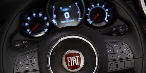 Mode of transport, Automotive design, Red, White, Speedometer, Gauge, Luxury vehicle, Carmine, Black, Logo,