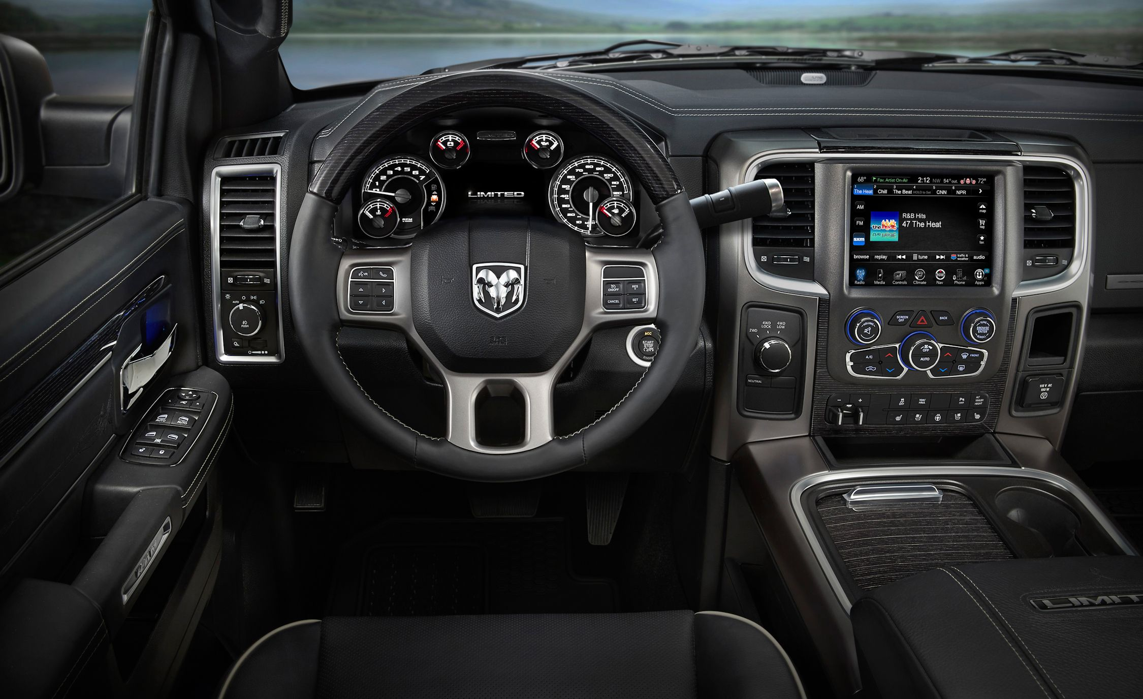 Ram Launches New Chrome Intensive Laramie Limited Pickup News Car And Driver