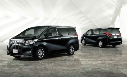 Toyota's New Alphard and Vellfire Vans Are Great, Won't See