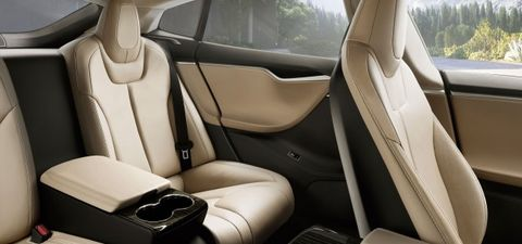 Groovy Tesla Model S Now Offers Executive Rear Seating News Dailytribune Chair Design For Home Dailytribuneorg