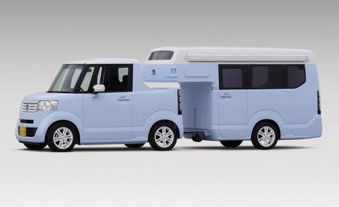 Like Some Cat from Japan: Honda's N-TRUCK/N-CAMP Is a Goldmine of Tiny Recreation