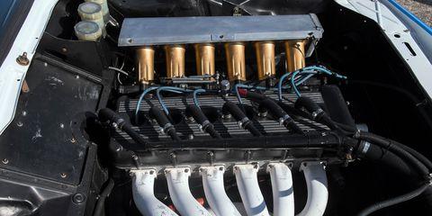 Engine, Automotive engine part, Machine, Automotive super charger part, Electrical wiring, Automotive air manifold, Kit car,