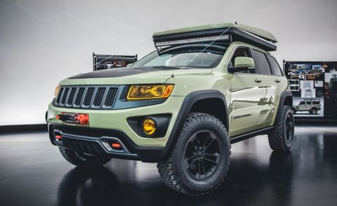 Jeep Grand Cherokee Overlander Concept Can Get Away From It All And Stay