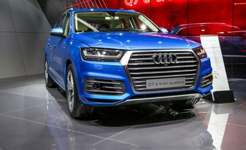 Audi Releases More Information On Q7 E Tron Plug In Sel Hybrid