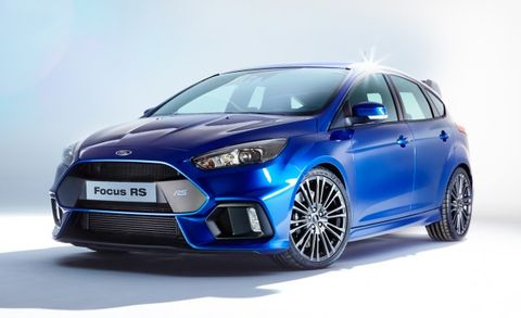 2016 Ford Focus Rs Placement