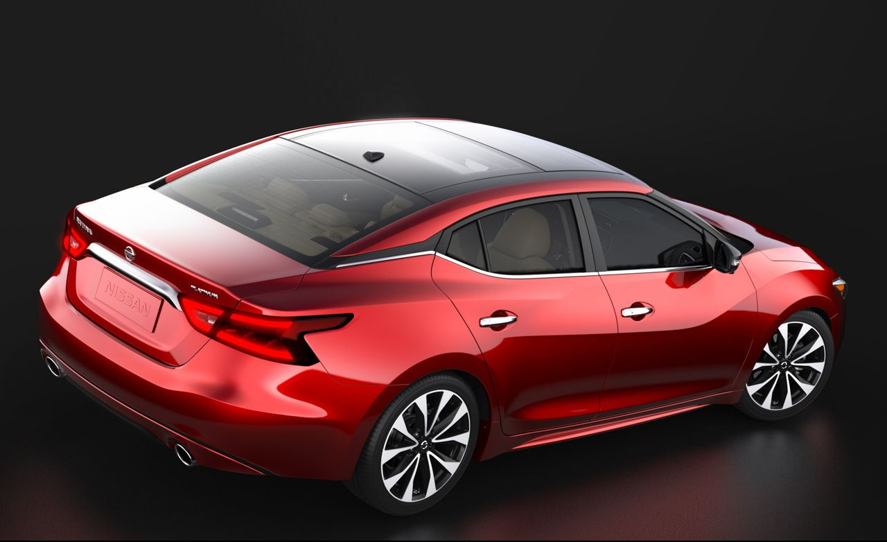 Nissan Launches Online Configurator For 2016 Maxima News Car And