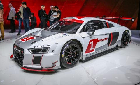 Audi Debuts Lms Racing Version Of All New R8 We Drool News Car