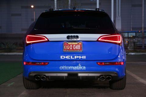 Delphi Taking First Autonomous Coast-to-Coast Drive in