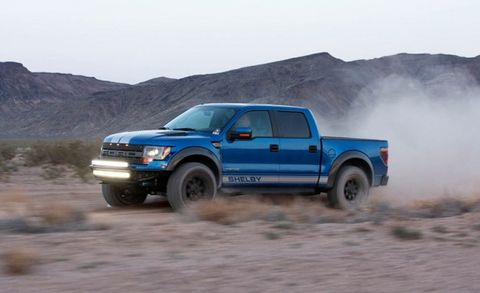 Oh Good, Now the Shelby Ford Raptor Makes 700+ Horsepower