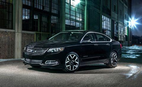 Chevy Impala Midnight Edition Commemorates Nighttime News Car