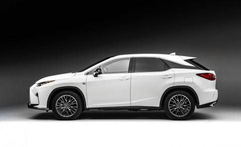Lexus 3Rd Row >> Lexus Considering Adding Third Row Of Seats To Rx Crossover