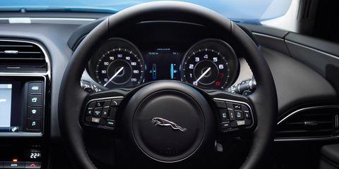 Product, Automotive design, Steering wheel, Speedometer, White, Car, Gauge, Steering part, Technology, Trip computer,