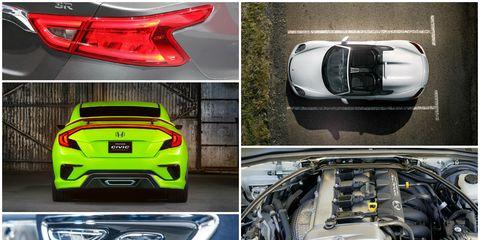 best design details ny auto show collage